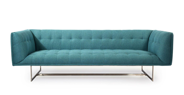 Edward Mid Century Modern Chesterfield Sofa
