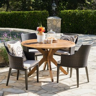 Mid-Century Modern Patio Dining Sets You\'ll Love | Wayfair
