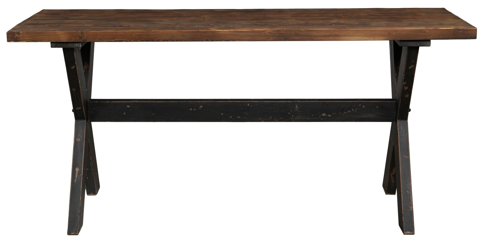 Reclaimed wood console sofa tables youll love wayfair geotapseo Images