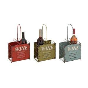 2 Bottle Tabletop Wine Rack (Set of 3) by Cole & Grey