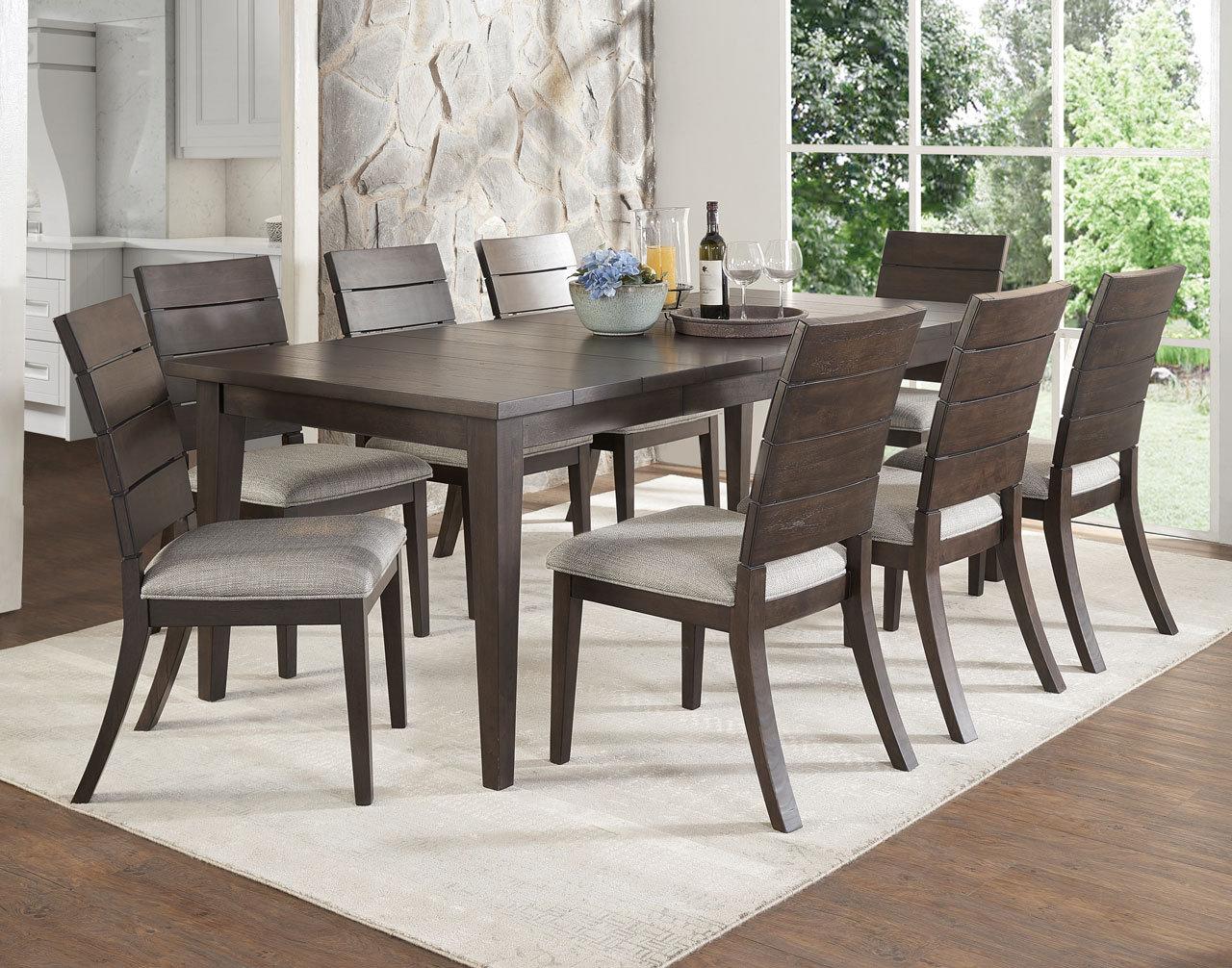 Gracie Oaks Wooton 9 Piece Extendable Dining Table Set Reviews Wayfair