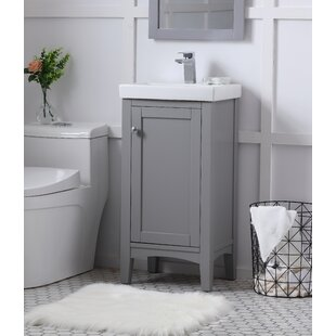Merveilleux Antique Silver Bathroom Vanity   Wayfair