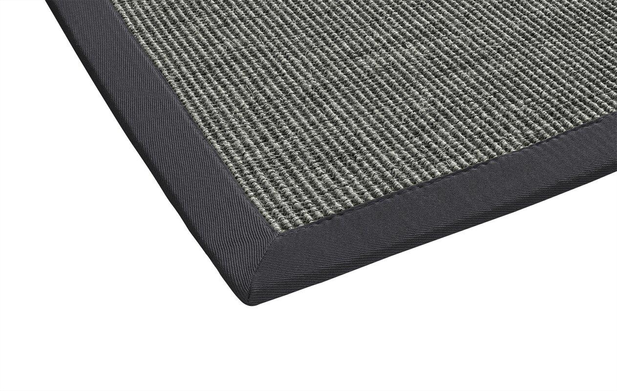 laurel foundry sisal teppich retta in anthrazit bewertungen. Black Bedroom Furniture Sets. Home Design Ideas