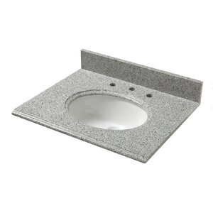 Granite 25″ Single Bathroom Vanity Top