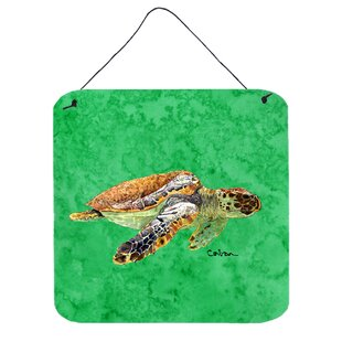 Turtle Wall Art Plaque
