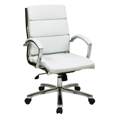 Brayden Studio Dunarragan Conference Chair Upholstery Color: Charcoal Gray