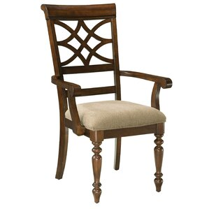 Blue Hills Arm Chair (Set of 2) by Three Posts