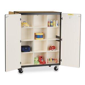 Double Sided Storage Cabinet | Wayfair