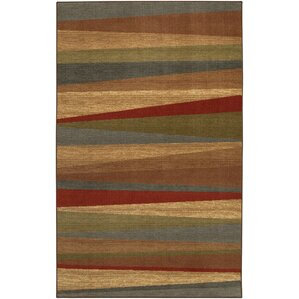 Claireville Brown / Red Area Rug