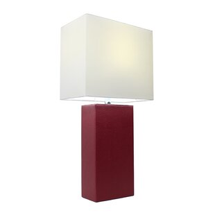 Red table lamps youll love wayfair red table lamps aloadofball Choice Image