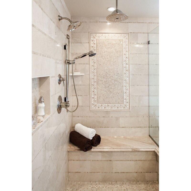 Emser Tile Marble 24 X 24 Field Tile In Crema Marfil Wayfair