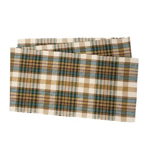 Karie Plaid Table Runner