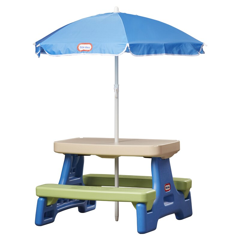 Delicieux Easy Store Kids Picnic Table
