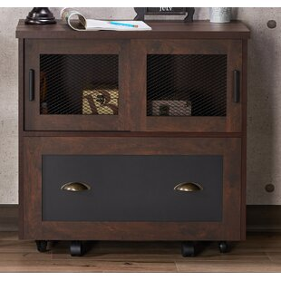 Zenya Industrial 1 Drawer Lateral Filing Cabinet