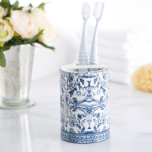 Porcelain Toothbrush Holder