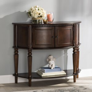 Half-Circle Console & Sofa Tables You'll Love | Wayfair