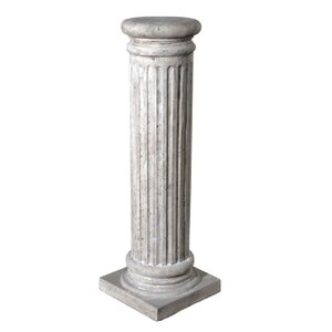 Classical Greek Fluted Pedestal
