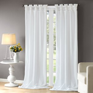 White Curtains Drapes Youll Love Wayfair