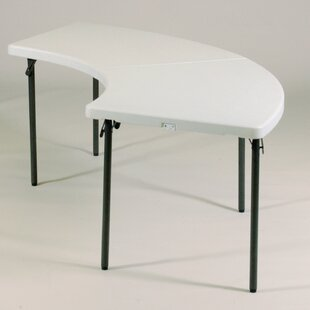 96 Semi Circle Folding Table