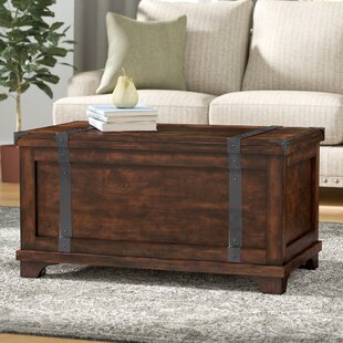 Etonnant Hebbville Storage Trunk Table