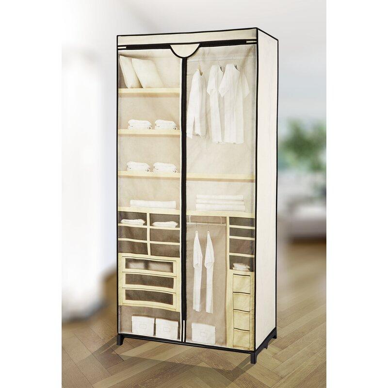 wenko kleiderschrank. Black Bedroom Furniture Sets. Home Design Ideas