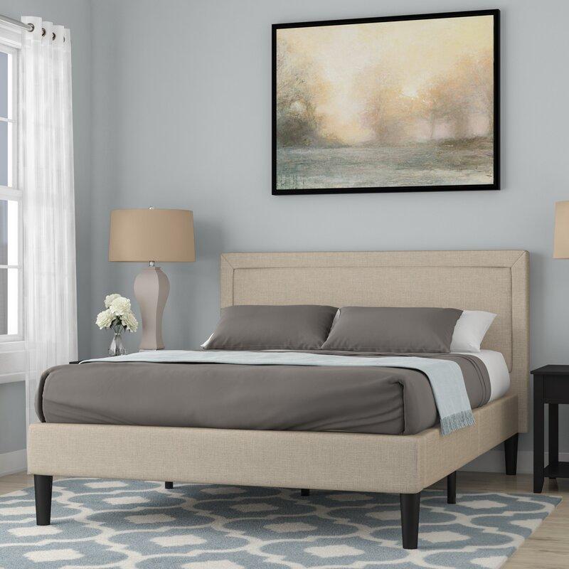 Wayfair All Modern: Winston Porter Mariel Upholstered Platform Bed & Reviews