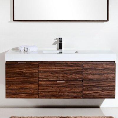 Floating Amp Wall Mounted Bathroom Vanities You Ll Love
