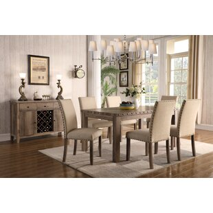Mach 7 Piece Dining Set  sc 1 st  Joss u0026 Main : kitchen tables and chair sets - Pezcame.Com