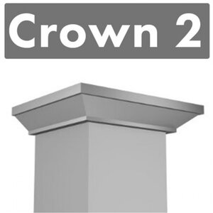Range Hood Crown Molding Profile 2