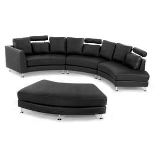 0 APR Financing Small Curved Sectional Sofa86