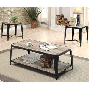 Oldlake 3 Piece Coffee Table Set
