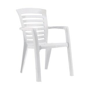White Plastic Garden Chairs   Wayfair.co.uk