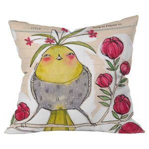 Sweetness And Light Outdoor Throw Pillow