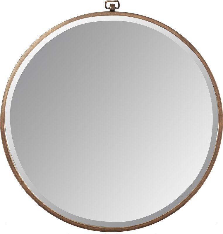 Taylor Round Oversized Wall Mirror Amp Reviews Joss Amp Main