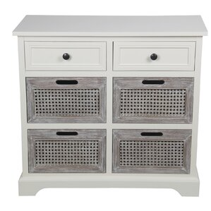 rowan 6 drawer storage cabinet