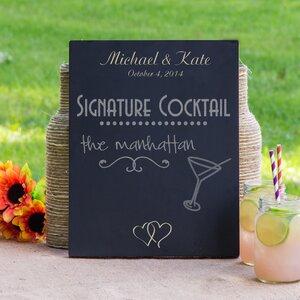 Custom Wedding Sign Chalkboard