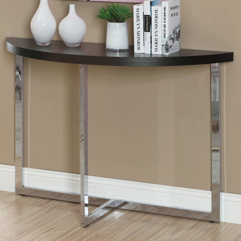 Superb Half Moon Console Table