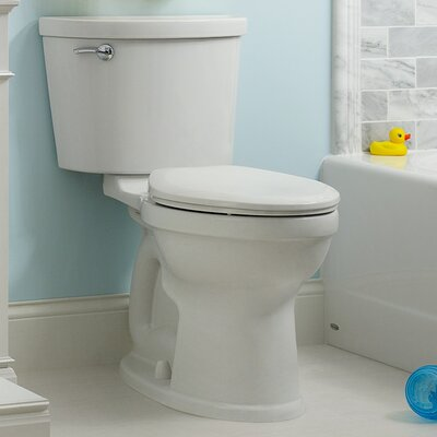 American Standard Champion Pro1.6 GPF Elongated Two-Piece Toilet (Seat Not Included)  Color: Bone