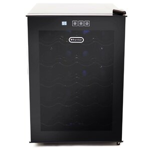 20 Bottle Single Zone Freestanding Wine Cooler by Whynter