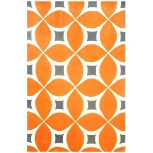 Soro Hand Woven Orange Area Rug