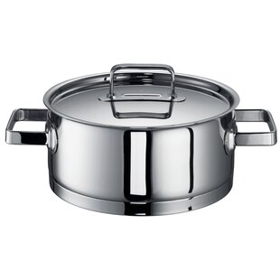 Chiara Stainless steel Round Casserole by Rohe Germany