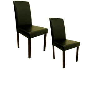 Genuine Leather Upholstered Dining Chairs (Set of 8) by Warehouse of Tiffany