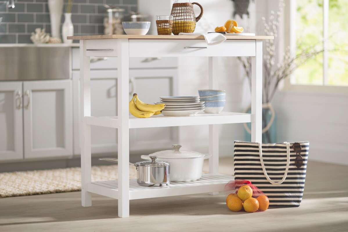 beachcrest home lakeland kitchen island u0026 reviews wayfair