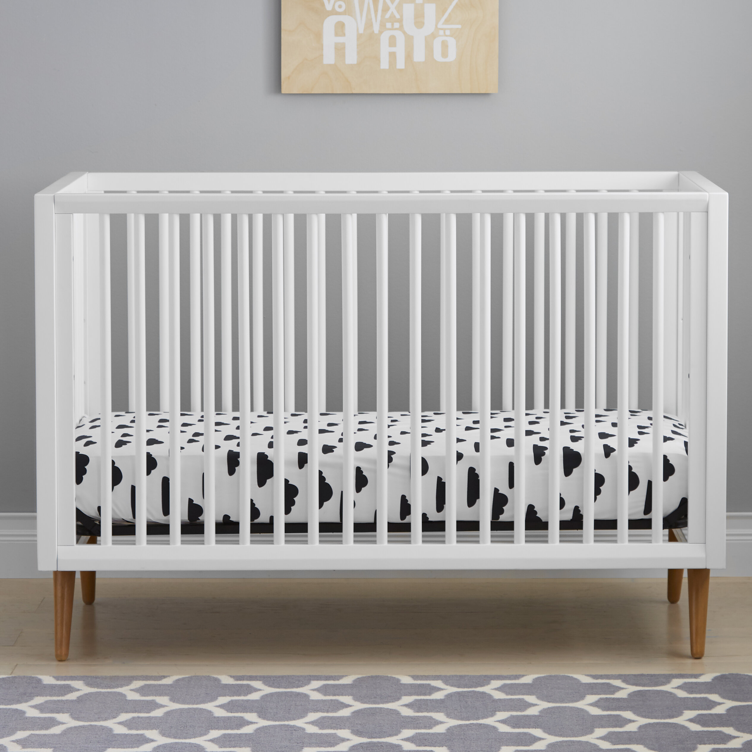 committee cot a cribs the home made legs through solution by see bars crib