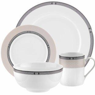 16 Piece Dinnerware Set  sc 1 st  Wayfair & Lightweight Dinnerware Sets   Wayfair