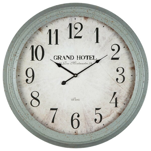 Grand Hotel Oversized Wall Clock Amp Reviews Birch Lane