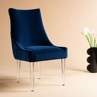 Lovie Acrylic Upholstered Dining Chair