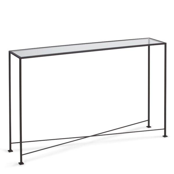 Glass Sofa Table modern glass console + sofa tables   allmodern