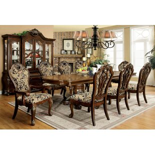 Dufault 9 Piece Drop Leaf Dining Set