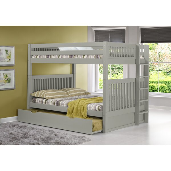 Full Bunk Bed With Trundle Part - 22: Camaflexi Full Over Full Bunk Bed With Trundle U0026 Reviews   Wayfair